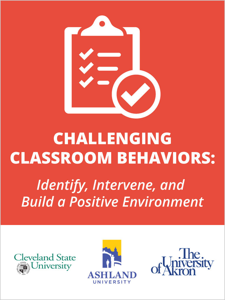 Classroom Discipline Help For Teachers  Online Education Course Challenging Classroom Behaviors Identify Intervene And Build A Positive  Environment